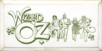 Wizard Of Oz | Wood Sign With Movie Title | Sawdust City Wood Signs