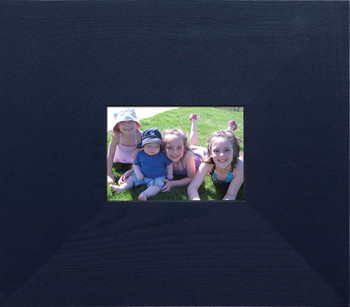Blank Flat Edge Frame shown in Blue
