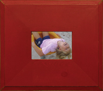 Blank Beveled Edge shown in Red