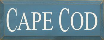 Cape Cod |Destination Wood Sign| Sawdust City Wood Signs