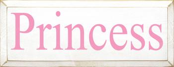 Princess | Princess Wood Sign| Sawdust City Wood Signs