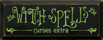 Shown in Old Black with Apple Green lettering