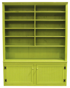 CUSTOM - Cabinet with Adjustable Shelving | Custom Pine Furniture | Sawdust City Custom Furniture