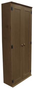 CUSTOM - Double-Door Locker | Custom Pine Locker | Sawdust City Custom Furniture
