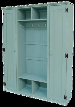 CUSTOM - Extra-Wide Locker | Custom Pine Locker | Sawdust City Custom Furniture