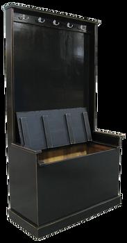 CUSTOM - Large Hall Tree Bench | Custom Woos Bench | Sawdust City Custom Furniture