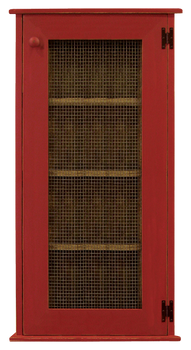 Shown in Old Red with a Screen door
