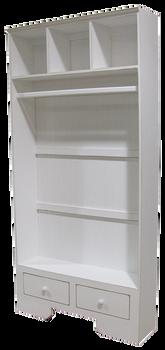 CUSTOM - Extra-Wide Locker with Hanging Rod | Custom Wood Locker | Sawdust City Custom Furniture