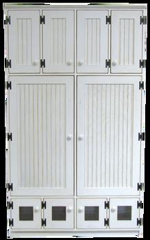 CUSTOM - 2 Big Lockers With Doors | Custom Pine Lockers | Sawdust City Custom Furniture