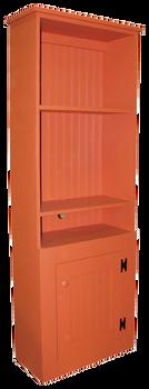 CUSTOM - 2 ft. Hutch with Cord Openings | Custom Pine Hutch | Sawdust City Custom Furniture