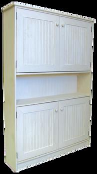 CUSTOM - 4 ft. Hutch with Doors