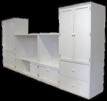 CUSTOM - 15 ft. Wall Setup | Custom Wood Furniture| Sawdust City Custom Furniture