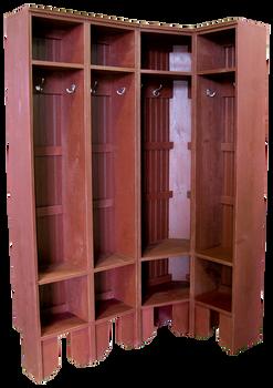 CUSTOM - Tall-Leg Lockers | Custom Tall Wooden Lockers | Sawdust City Custom Furniture