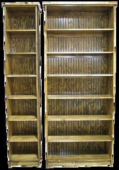 CUSTOM - Extra Tall Bookcases | Custom Tall Pine Bookcases | Sawdust City Custom Furniturev