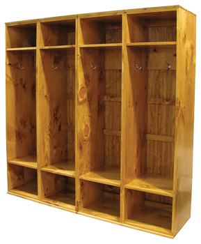 CUSTOM - Extra Large Lockers | Custom Extra Large Wooden Lockers | Sawdust City Custom Furniture