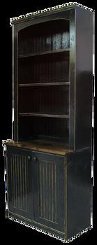 CUSTOM - Display Hutch with Beadboard Doors | Custom Pine Hutch | Sawdust City Custom Furniture