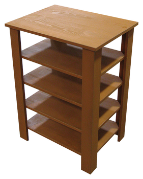 CUSTOM - Table with Shelves | Custom Wooden Table | Sawdust City Custom Furniture