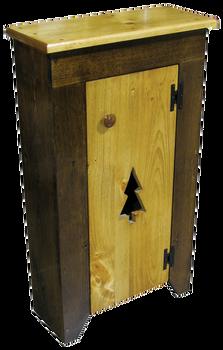 CUSTOM - Cabinets in Walnut & Butternut Stain | Custom Pine Cabinets| Sawdust City Custom Furniture