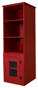 CUSTOM - Extra Deep Pine Hutch | Custom Extra Deep Pine Hutch | Sawdust City Custom Furniture