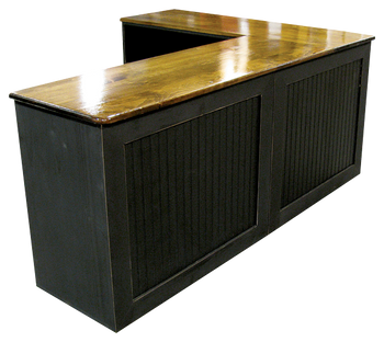 CUSTOM - L-Shaped Desk | Custom Pine Desk | Sawdust City Custom Furniture