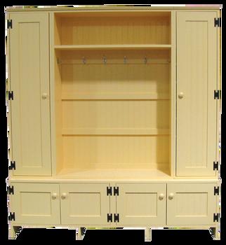 CUSTOM - Locker Setup | Custom Pine Lockers | Sawdust City Custom Furniture