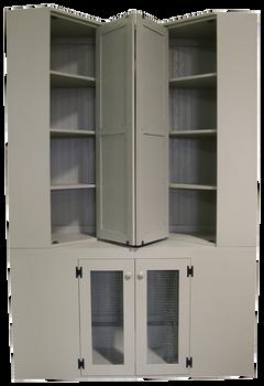 CUSTOM - Large Wall Cabinet | Custom Large Wall Cabinet | Sawdust City Custom Furniture
