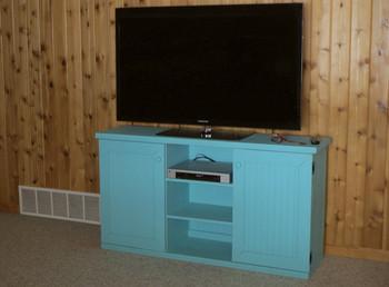CUSTOM - Flat-Wall TV Stand | Custom Pine TV Stand | Sawdust City Custom Furniture
