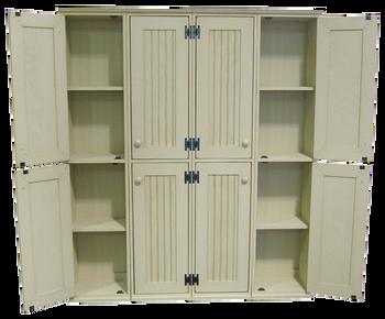 CUSTOM - Double Door Lockers | Custom Wooden Double Lockers | Sawdust City Custom Furniture
