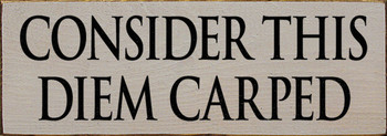 Shown in Old Putty with Black lettering
