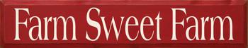 Farm Sweet Farm | Farm Wood Sign| Sawdust City Wood Signs
