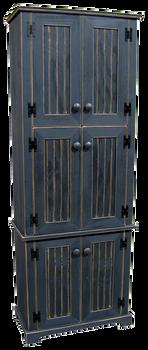 CUSTOM - Tall 6-Door Cabinet | Custom Tall Pine Cabinet| Sawdust City Custom Furniture