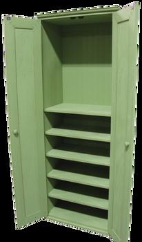 CUSTOM - Cabinet with Shelves | Custom Pine Cabinets | Sawdust City Custom Furniture