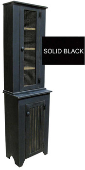 Shown in Solid Black