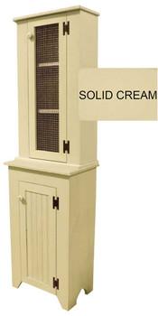 Shown in Solid Cream
