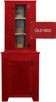 Corner Cupboard & Hutch Set  | Pine Kitchen Furniture | Sawdust City Pine Furniture