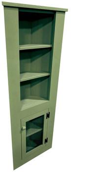 5 foot Kitchen Corner Hutch | Pine Kitchen Hutch | Sawdust City Pine Furniture