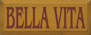 Shown in Old Gold with Burgundy Lettering