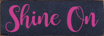 Shown in Old Blue with Blush Lettering