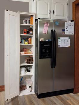 Skinny Kitchen Pantry  | Pine Kitchen Furniture | Sawdust City Pine Furniture