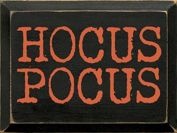Hocus Pocus | Wood Halloween Signs | Sawdust City Wood Signs