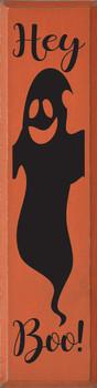 Hey Boo! (ghost) | Wood Halloween Signs | Sawdust City Wood Signs