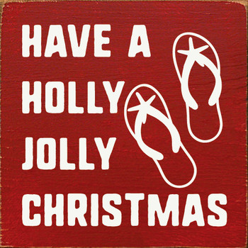 Have a holly jolly Christmas |Christmas Wood  Signs | Sawdust City Wood Signs