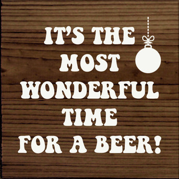 It's the most wonderful time for a beer!