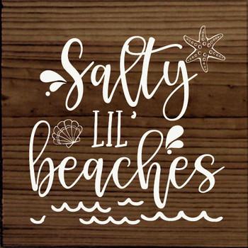Salty little beaches