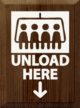 Unload here