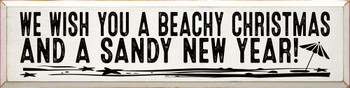 We wish you a beachy Christmas and a sandy new year!
