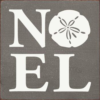 Noel (sand dollar)   Christmas Wood  Signs   Sawdust City Wood Signs