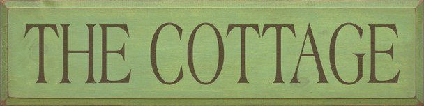 The Cottage   Home Wood Sign    Sawdust City Wood Signs