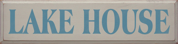 Shown in Old Putty with Williamsburg Blue lettering