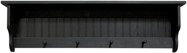 Shown in Old Black with a beadboard back